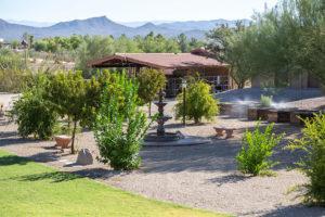 The Meadows Ranch garden