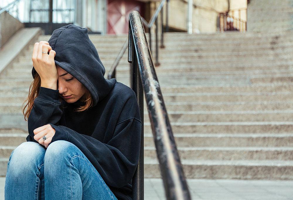 PTSD Teenager Girl