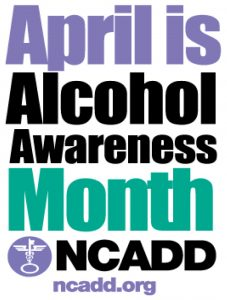 Alcohol Awareness Month Graphic