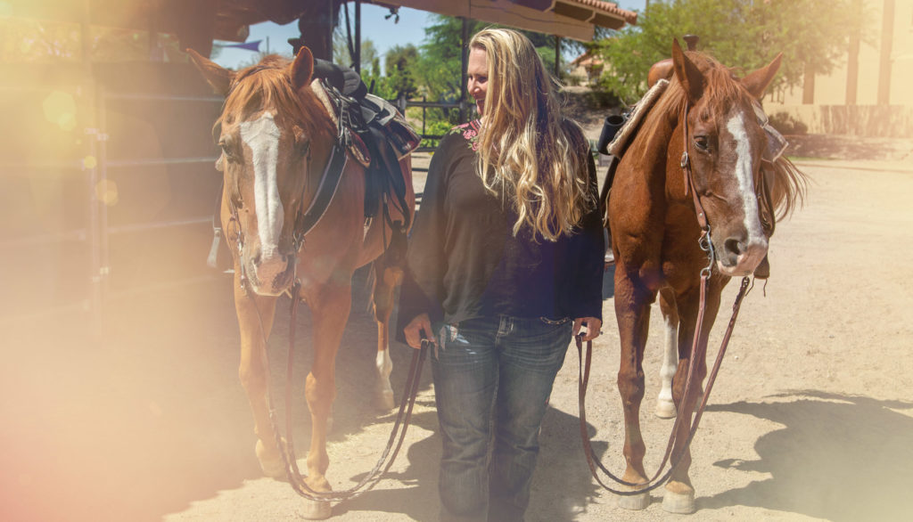 Meadows Ranch equine therapy